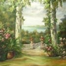 SW33 Scenic Hand Painted Photo Backdrop