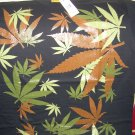 BRAND NEW BROWN WEED LEAF MARIGUANA BIG T SHIRT