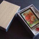 Valentine cupids  Cherubs handmade nostalgia Glass Brooch Pin