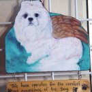 Maltese Personalized wood sign Handcrafted custom plaque gifts Dog art