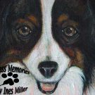 "Pet Portrait painting animal portraiture commissioned art painting 18""X24"" canvas panel"
