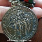 COIN silver VOLUNTARY SERVICE VOLONTAIRE - Canadian Volunteer Service Silver coin Medal Original