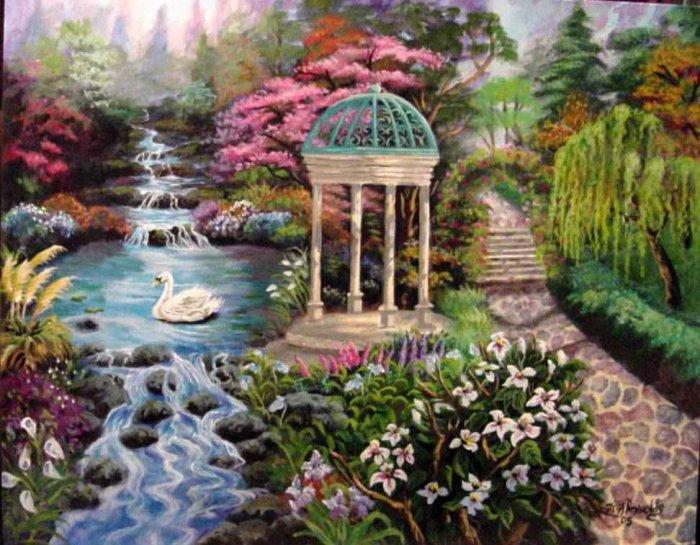 Roman Garden
