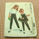 Toddler Helen Lee 60s vintage sewing pattern McCall's 6460