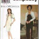 Dress Simplicity 9896 Jessica McClintock Sewing Pattern