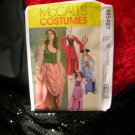Pirate Dress McCall's M5497 Costumes Sewing Pattern and Fabric