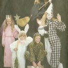Child's Princess Witch Bunny Costume Sewing Pattern Butterick 3372