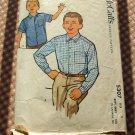 Boys Shirt McCalls 5307 vintage sewing pattern