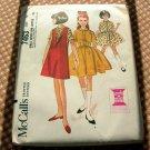 Girls Dress McCalls 7463 vintage sewing pattern
