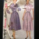 Simplicity 4017 vintage sewing pattern 50s full skirted dress