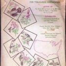Vintage Aunt Martha's Transfer for Needlework Statebirds Quilt