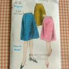 Vintage Vogue 5322 60s Skirt vintage sewing pattern