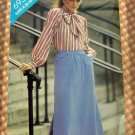 A-Line Skirt Butterick 6938 Vintage Sewing Pattern