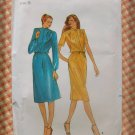 Tailored Dress Vintage 70s Sewing Pattern Butterick 3353