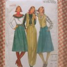 Butterick 5596 Vintage Sewing Pattern Misses Skirt and Pants