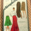 80s Skirts Vintage Sewing Pattern Simplicity 9772
