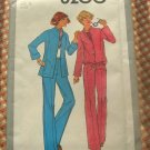 Pants and Jacket Vintage Sewing Pattern Simplicity 8200