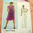Vintage 70s Diane Von Furstenberg sewing pattern Vogue 2456