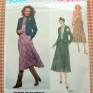 Skirt and Jacket American Designer sewing pattern Vogue 1964