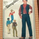 Boys Western vintage sewing pattern Simplicity 5528