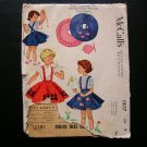 50s poodle skirt, petticoat McCall's 1817 vintage sewing pattern size 2