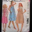 Maternity Midi Sundress Sewing Pattern Blouse and Jacket McCall's 7471