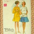 Mod 1960s Dress Vintage Sewing Pattern Butterick 5198