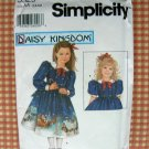 Daisy Kingdom Dress Sewing Pattern  and Doll's Dress Simplicity 5929