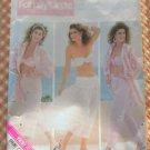 Shirt, Bra, Pants, Maxi Skirt Vintage 80s Butterick Sewing Pattern 5674