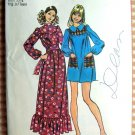 Maxi Dress or Mini Dress Vintage Sewing Pattern Simplicity 9778