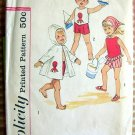 Vintage Sewing Pattern Simplicity 4502 Toddlers' Shorts