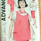 Mad Men Era Maternity Separates vintage sewing pattern Advance 9268