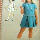 Toddler Girl Sailor Suit vintage sewing pattern Advance 3132