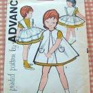Toddler Pinafores Vintage Sewing Pattern Advance 9562