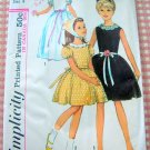 Flower Girl Dress Vintage Sewing Pattern Simplicity 6233