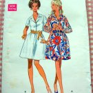 Misses Shirtdress Vintage Sewing Pattern Butterick 5265