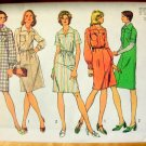 Chemise Dress Vintage Sewing Pattern Simplicity 5621