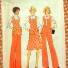 Misses Vest, Skirt and Pants Vintage Pattern Simplicity 7305