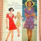 Mini-Skirt and Top Vintage Pattern Simplicity 9915