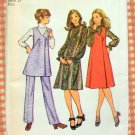 Maternity Dress, Jumper, Tunic and Pants Vintage Pattern Simplicity 9633