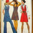 Bell Bottom Pants Vintage Pattern Simplicity 9609