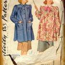 Misses Smock Vintage Pattern Simplicity 3501