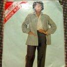 Misses Shirt Jacket and Pants McCalls 8152 Vintage Pattern