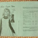 Misses Jumper Spadea Vintage Mail Order Sewing Pattern Y3095