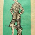 Misses 70s Pants and Shirt Jacket Vintage Mail Order Sewing Pattern 4918