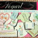 Vintage Vogart Embroidery Craft Transfer Pattern 261