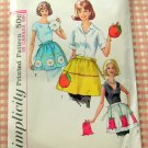 Hostess Aprons Vintage Sewing Pattern Simplicity 6251