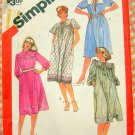 Plus-Sized Petite Vintage 80s Sewing Pattern Simplicity 5901
