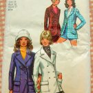 Tailored Jacket 70s Vintage Pattern Simplicity 9610 Bust 36