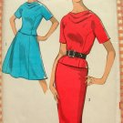 Misses Two-Piece Dress Skirt and Top Vintage Sewing Pattern Advance 2976